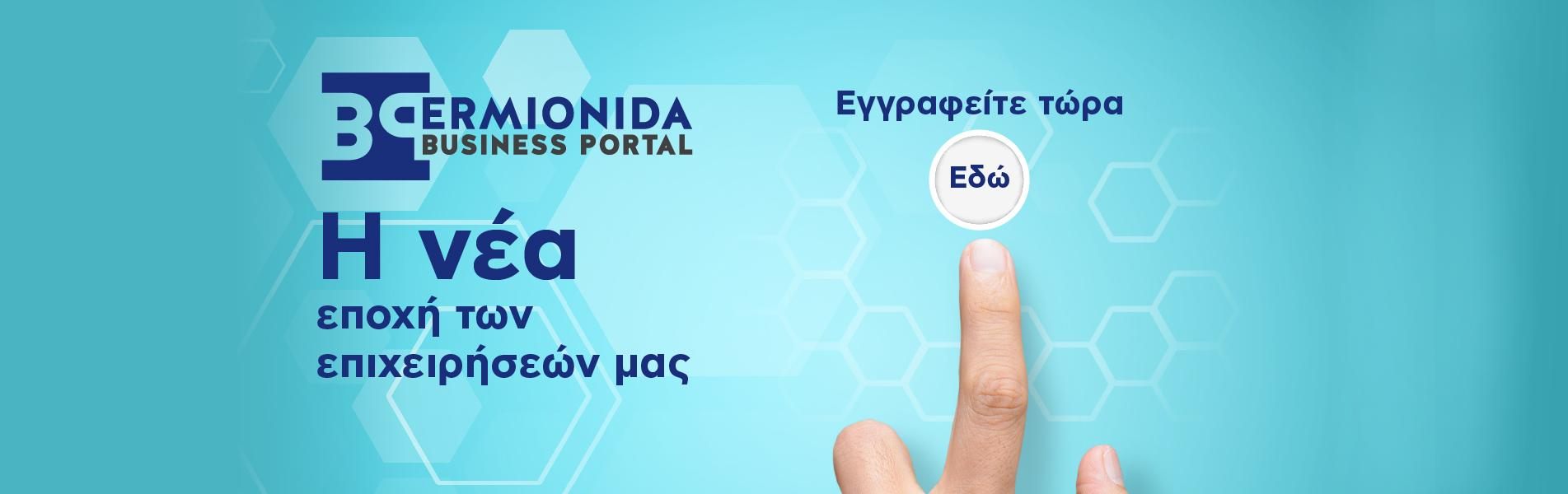 Ermionida Business portal